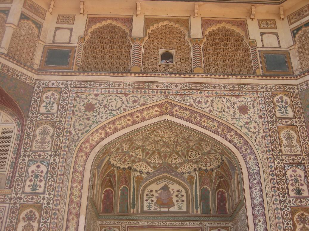 Jaipur for Porte de cour