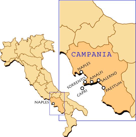 Environs De Naples