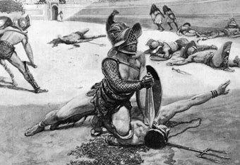 comment devenir gladiateur