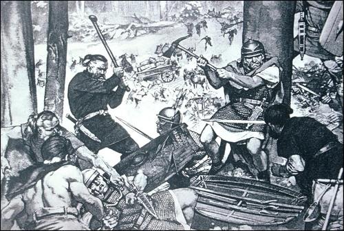 schlacht im teuteburger wald