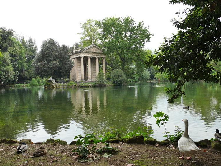 Visiter rome for Jardin villa medicis rome