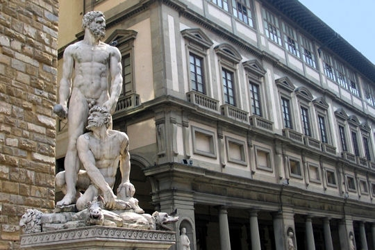 Monuments - Galerie des offices a florence ...