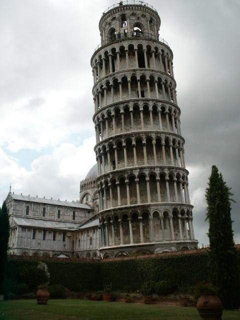 Pourquoi la tour de pise est elle pench e la r ponse est sur - La tour penchee de pise ...