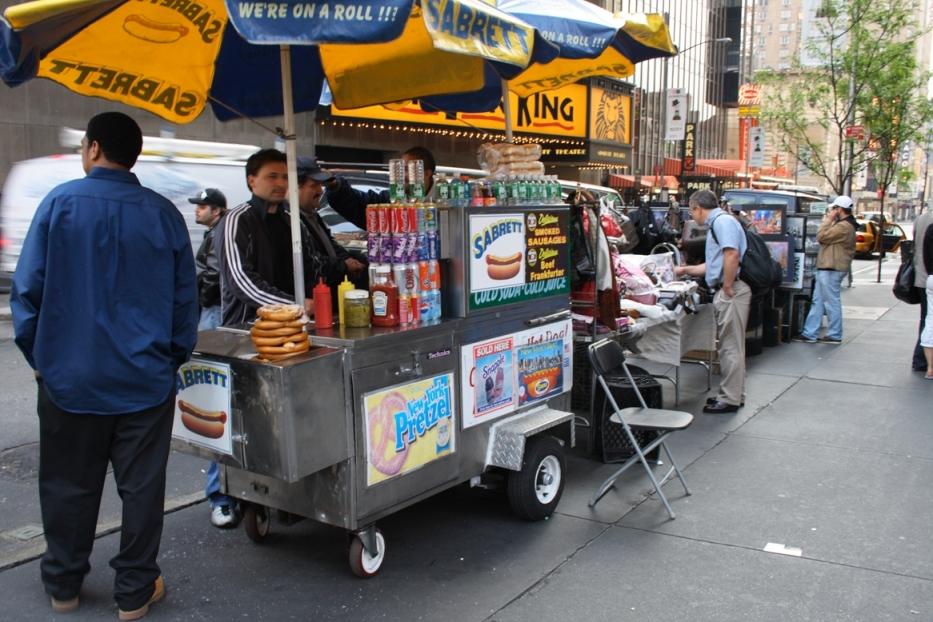 Lucky Dog Hot Dog Cart